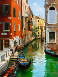 A Tryst In Venice, by Paul Harley